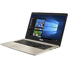 """Asus VivoBook Pro Notebook, 15.6"""" 4K/UHD IPS, Intel Core i7-7700HQ, RAM 16 GB, HDD da 1TB e SSD da 512 GB, NVidia GTX1050 [Layout Italiano]"""