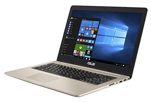 """Asus VivoBook Pro Notebook, 15.6"""" 4K/UHD IPS, Intel Core i7-7700HQ, RAM 16 GB, HDD da 1TB e SSD da 512 GB, NVidia GTX1050 [Layout Italiano] [Italia]"""
