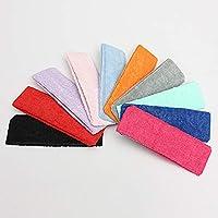 Plat Firm Elastische Headbrand Schweißbänder Haarband Turban Sport Yoga Gym Band