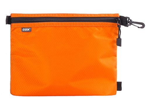 Organizer per Valigia o Zaino, GOX Premium 420D Nylon Borsa con Cerniera Portatile / Borsa Zip / Viaggi Dell'organizzatore di Immagazzinaggio / Borsa Zipper / Organizzatori di Viaggi (Small, Arancia)
