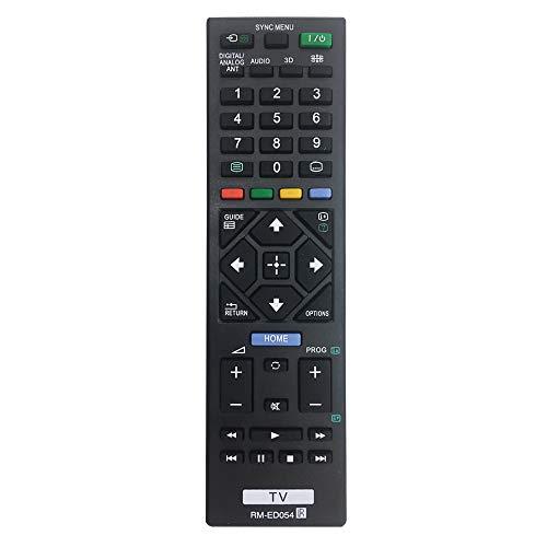 dienung RM-ED054 Sony Bravia für Sony Smart TV LCD/LED, kein Setup erforderlich, Universal-Fernbedienung BIFK KDL32R400A KDL-32R420A KDL-32R421A KDL32R423A ()