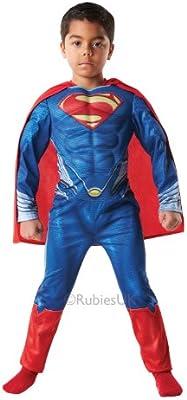Superman - Disfraz deluxe El Hombre de Acero