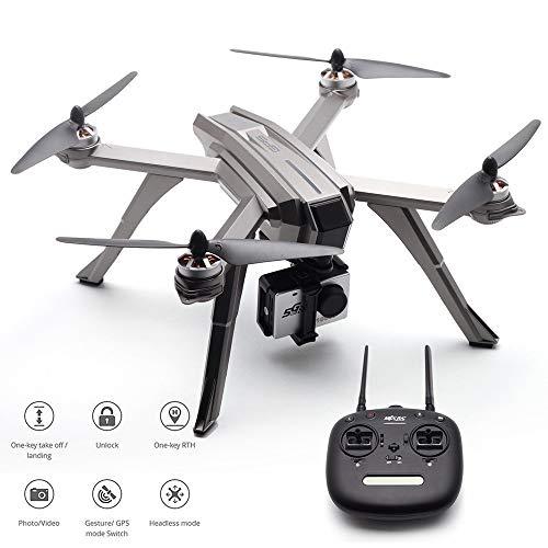 HHtoy Kreative RC Drohne Mit C6000 5G 1080 P WiFi FPV Kamera GPS Follow Me Modus Brushless Fernbedienung Hubschrauber Quadcopter for Kinder Und Erwachsene Geburtstag