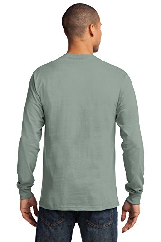 Port & Company -  T-shirt - Uomo Stonewashed Green