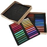 niceEshop(TM) Tiza Pastel de 48 Colores para Arte Dibujo Scrapbooking (Varios Colores, Juego de 48)