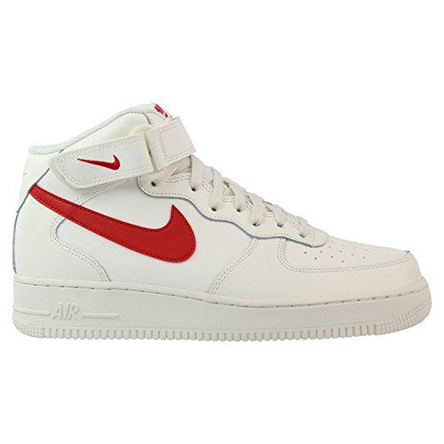315123 126|Nike Air Force 1 Mid '07 Sail|45 (Force Schuhe 1)