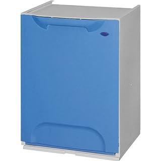 Mülltrenner / Müllsortierer-Element 20 Liter, aus Kunststoff, blau