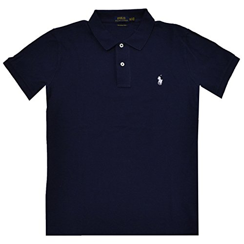 Polo Ralph Lauren Damen Poloshirt The Skinny Polo Newport Navy