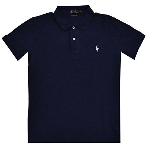 Polo Ralph Lauren Damen Poloshirt The Skinny Polo Newport Navy (Ralph Polos Lauren)