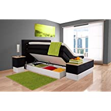 suchergebnis auf f r boxspringbett 100x200 mit bettkasten. Black Bedroom Furniture Sets. Home Design Ideas