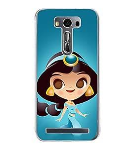 Princess 2D Hard Polycarbonate Designer Back Case Cover for Asus Zenfone 2 Laser ZE500KL (5 INCHES)