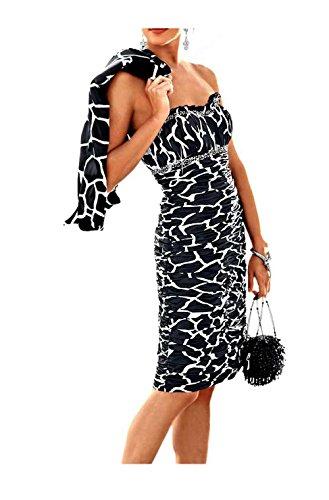 Heine -  Vestito  - Opaco - Donna nero-bianco