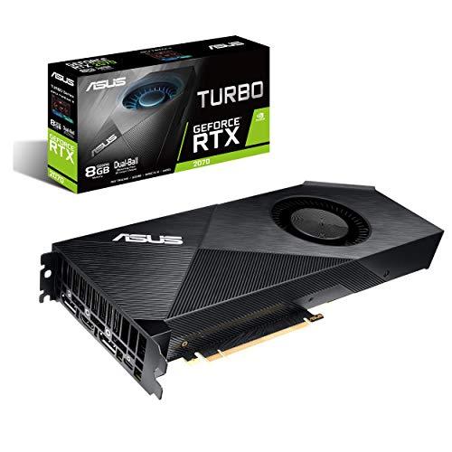 ASUS GeForce RTX 2070 8G Turbo Edition GDDR6 HDMI DP 1.4 USB Type-C Grafikkarte (TURBO-RTX2070-8G)