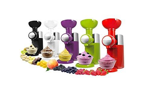 Nuestras diferentes carcasas Swirlio Big Boss frutas postre Maker máquina de café yogur el único producto que le permitirá transformar la totalidad de su fruta en squisiti yogur al 100% natural!! características: fácil limpiar componentes pueden lava...