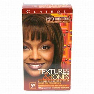Clairol Kit de coloration Textures & Tones - Couleur 5G - Châtain clair doré