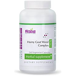 Zenith Nutrition Horny Goat Weed Complex 1150mg - 240 Capsules