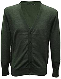 Posh Gear Men's Cardigan Crodasera Alpaca Wool
