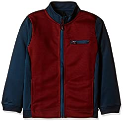 United Colors of Benetton Boys Jacket (16A3PONCK104I902M_Red and Blue_M)