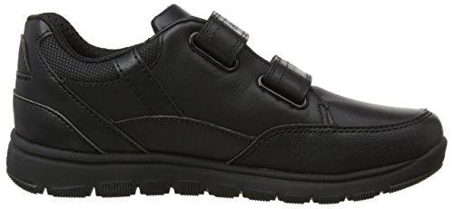 Geox Jungen J Xunday Boy B Sneaker Schwarz (Black)