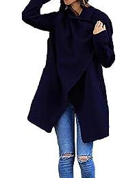 SEWORLD Damen Herbst Winter Langarm Mantel Strand Bequem Sweatshirt Warmer Kapuzen Dünne Mantel Lose Damen Beiläufige Hoodies Jacken Mantel Spitze