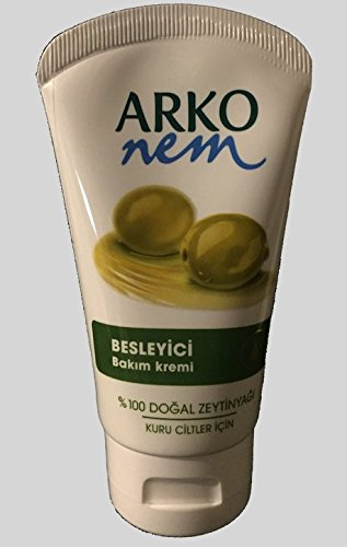 Arko Pflegecreme reines Olivenöl 5-er Pack