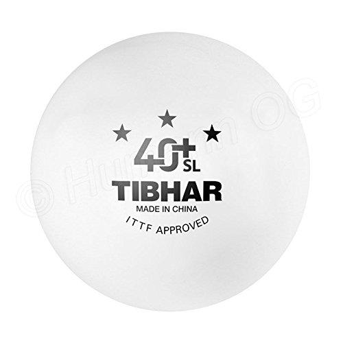 Pelotas de tenis de mesa TIBHAR 40+ 3 estrellas