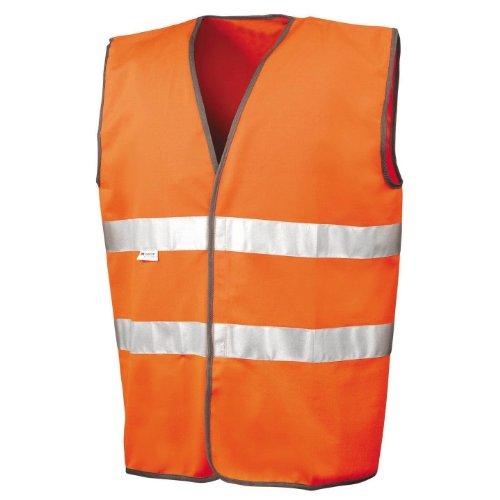 Result Motorist Safety Hi-Vis Weste für Männer Gelb