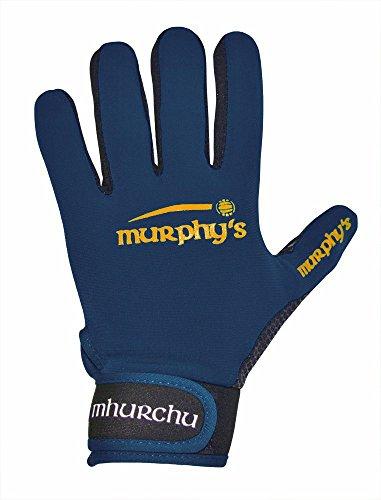 Murphy's Gälische Sprache Handschuhe-Youth-Marineblau, Navy - Fußball-handschuhe Blau Youth