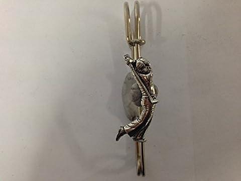 S1 Golfer kilt pin Scarf or Brooch pin pewter emblem 3