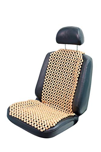 lacy - wood Holzkugel Holzperlen Massage Sitzauflage Sitzbezug Sitzmatte Sitzaufleger Natur