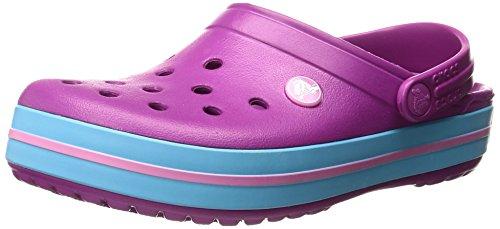 Crocs Crocband Vib Vio, Sabots Mixte Adulte Violet (Vibrant Violet)
