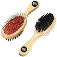 The Pets Company Dog Brush Double Sided Comb for Dogs and Cats, Small