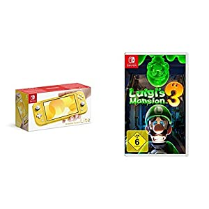Nintendo Switch Lite, Standard, gelb + FIFA 20 – Legacy Edition – [Nintendo Switch]