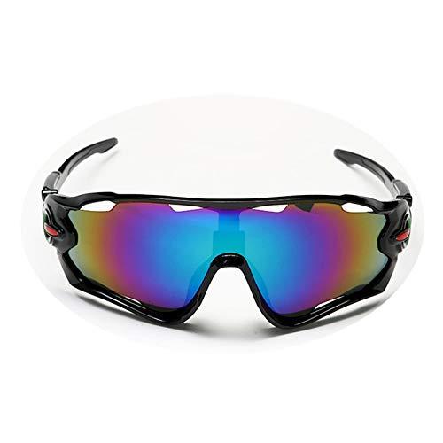 Beydodo Schutzbrille Winddicht Schwarz Blau Grün Sport Brille Winddicht Sonnenbrille Schießbrille für Brillenträger