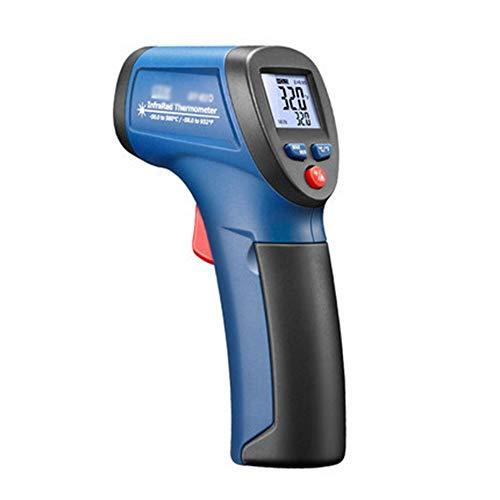 Qtavyep Portátil Industrial termómetro termómetro infrarrojo portátil termómetro de -30 °...