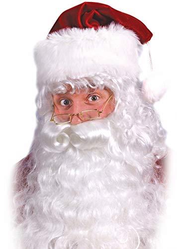 EL CARNAVAL Peluca Barba Disfraz Papá Noel Rey Mago