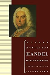Handel (Master Musicians Series) by Burrows, Donald (1996) Paperback