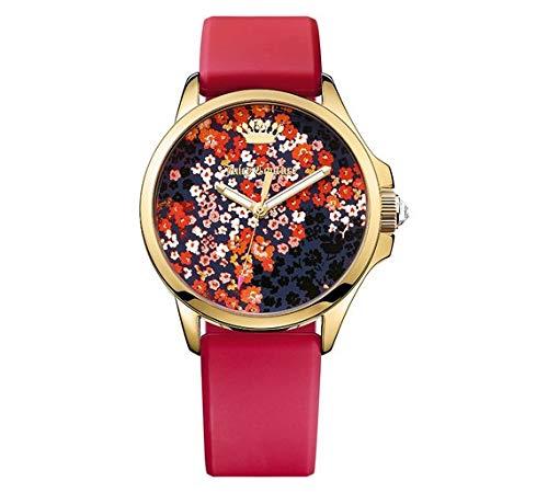 Juicy Couture Jetsetter - Reloj de Pulsera para Mujer, diseño Floral