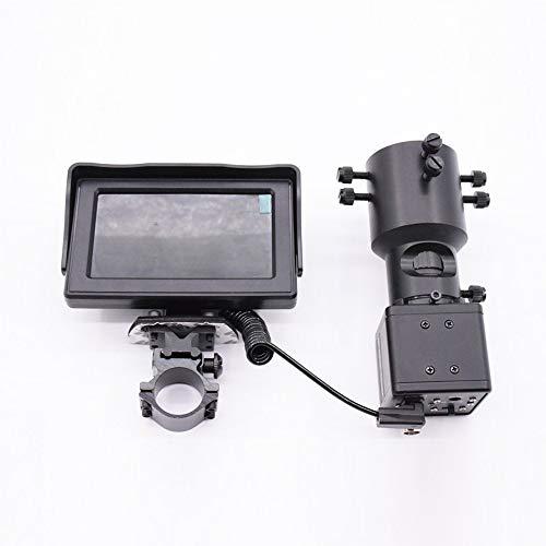"Changli Night Vision Monocular 4,3\""LCD-Bildschirm 5W IR Kamera Verstellbares, klares Bild mit 25mm Objektiv für Vögel/Wildlife/Jagd/Camping/Wandern/Tourismus"