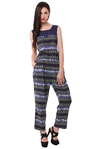 Eyelet Printed Women's Jumpsuit  available at amazon for Rs.449