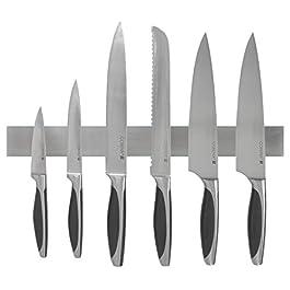 Barra magnetica per coltelli della Coninx da 40 cm- striscia banda pensile per coltelli in acciaio inossidabile…