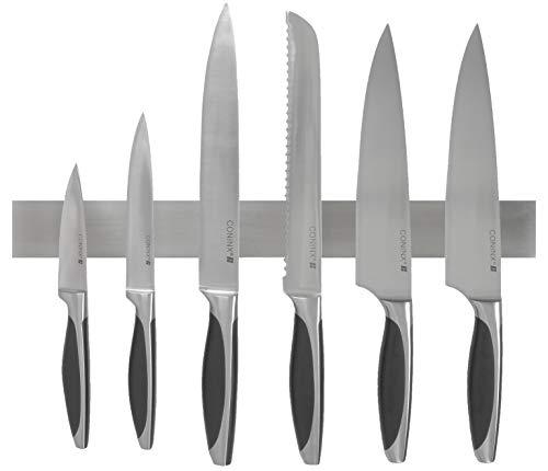 Edelstahl Messerhalter magnetisch/ Magnetleiste - 3 Jahre Garantie