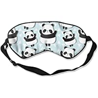 Sleep Eye Mask Cute Little Panda Lightweight Soft Blindfold Adjustable Head Strap Eyeshade Travel Eyepatch preisvergleich bei billige-tabletten.eu