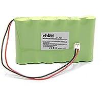 vhbw NiMH batteria 1800mAh (7.2V) per stimolatore muscolare Compex Sport 3 Vascular, Sport 400, Sport Tens, Top Fitness