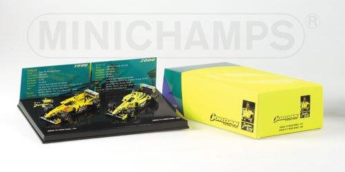 Preisvergleich Produktbild Minichamps 402109900 - Jordan Mugen Honda 199&EJ10 10 years Jordan GP Set NO.5 L.E.3999 PCS.