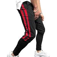 Männer Button Jogger Hosen - Lässige Gym Fitness Trainingshose Slim Fit Harem Sweat Pants M-3XL