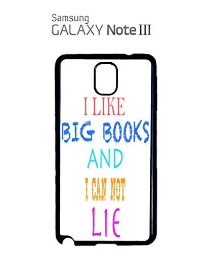 I Like Big Books and I can not Lie Mobile Cell Phone Case Samsung Note 3 Black Noir