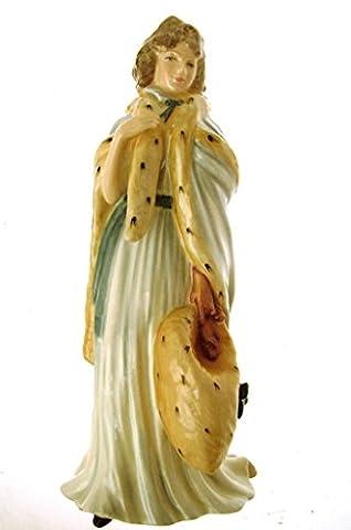 Royal Doulton Statuette Eliza Farren Countess of Derby hn3442le Figurine de 5000