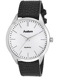 Austere Daniel Analog White Dial Men's Watch - MDL-0102
