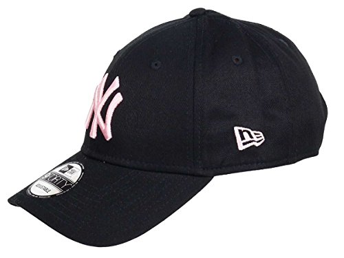 New Era New York Yankees 9forty Adjustable Cap League Essential Black/Pink - One-Size New York Yankees-kinder-fan